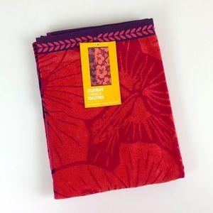Other - NEW Hawaiian flower Turkish cotton beach towel